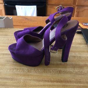 Candies Purple heels